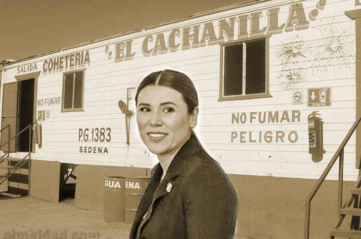 Marina del Pilar con todo en contra de los cohetes en Mexicali.