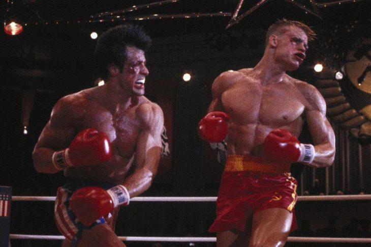 Pelea final de Rocky IV.