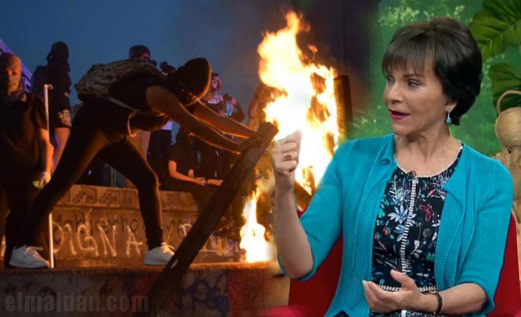 Paty Chapoy criticó a las feminazis.