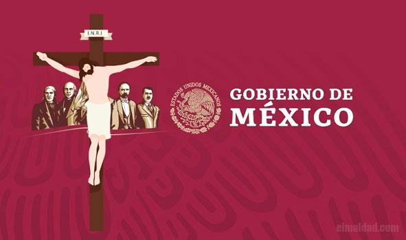 Posiblemente el cambio que haría el Gobierno de México a su logotipo oficial.