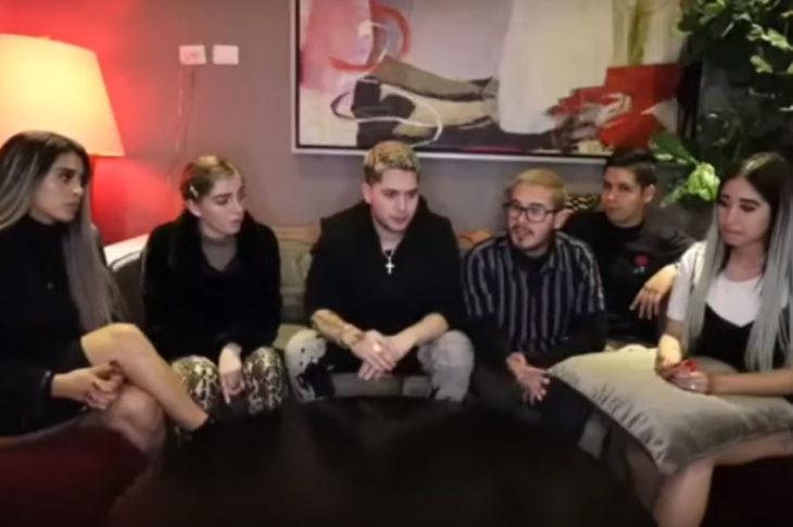 """YouTubers que denunciaron """"maltratos"""" por parte de Badabun."""