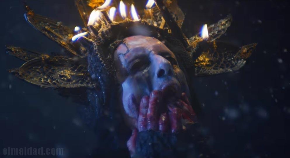 Nergal, líder de Behemoth en el vídeo musical Rom 5:8.