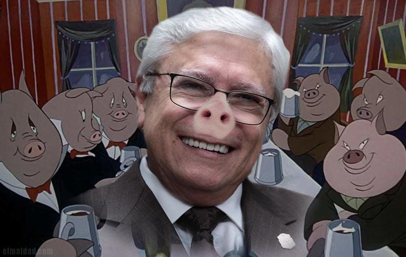 Jaime Bonilla también es empresario y no ha presentado su 3 de 3, entonces quien sabe si pague impuestos.