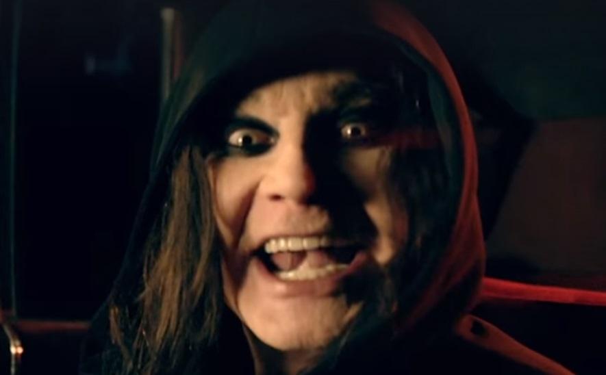 Captura de pantalla del nuevo vídeo musical de Ozzy.
