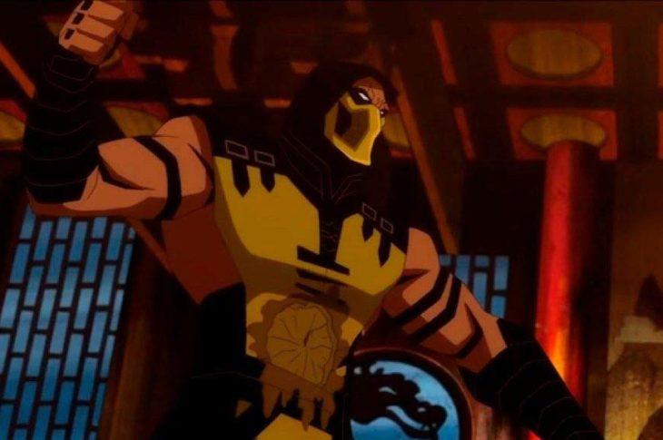 Captura de pantalla de una de las escenas del trailer de la nueva película de Mortal Kombat Legends: Scorpion's Revenge.