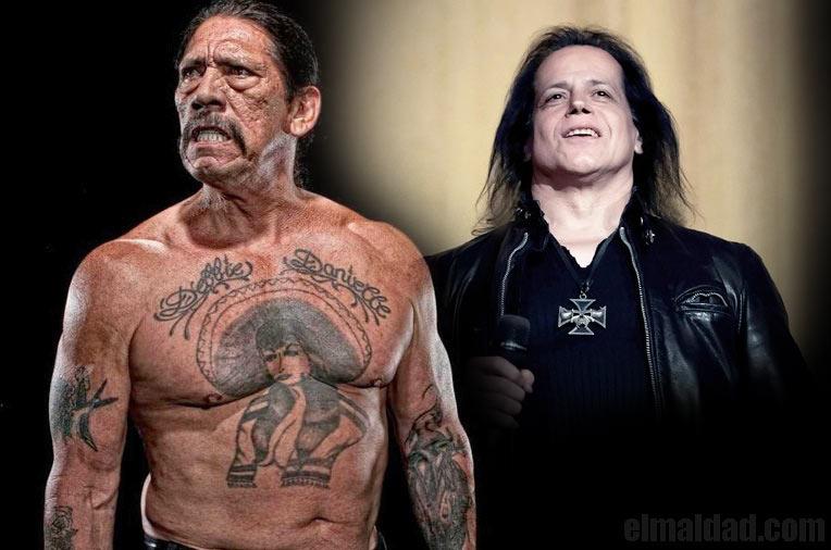 Danny Trejo y Glenn Danzig.