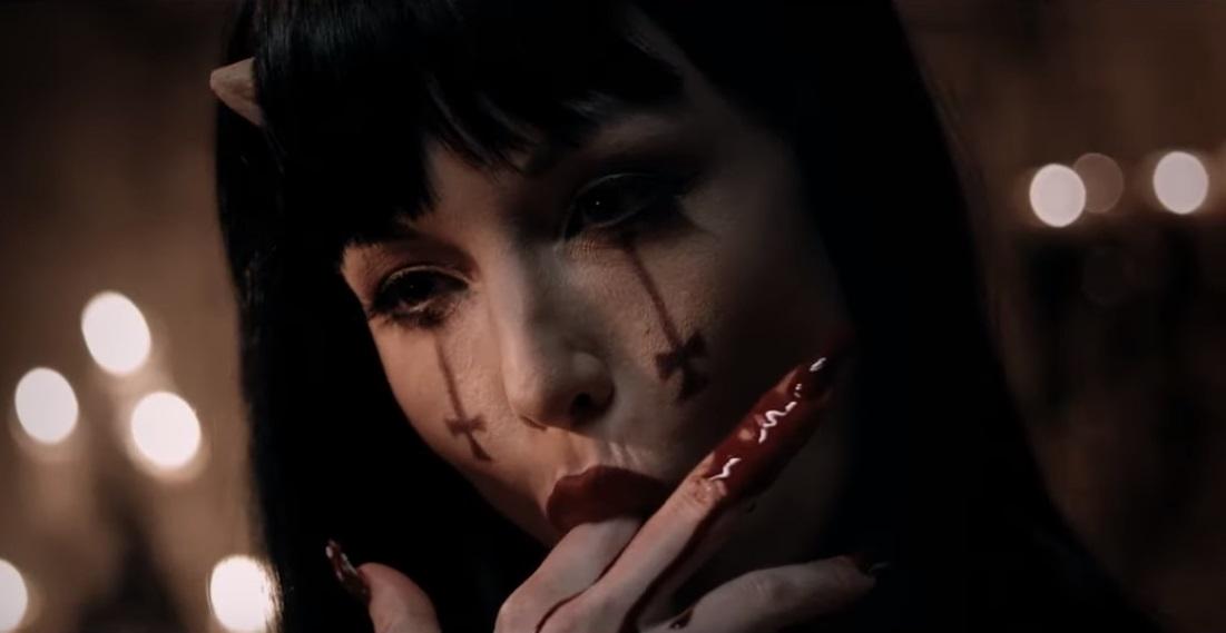 Una escena de Verotika que podemos ver en el trailer.