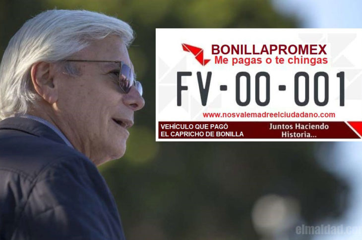 "Diputados aprueban el ""Bonillapromex""."