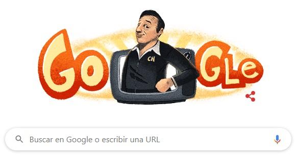 El Doodle de Chespirito.