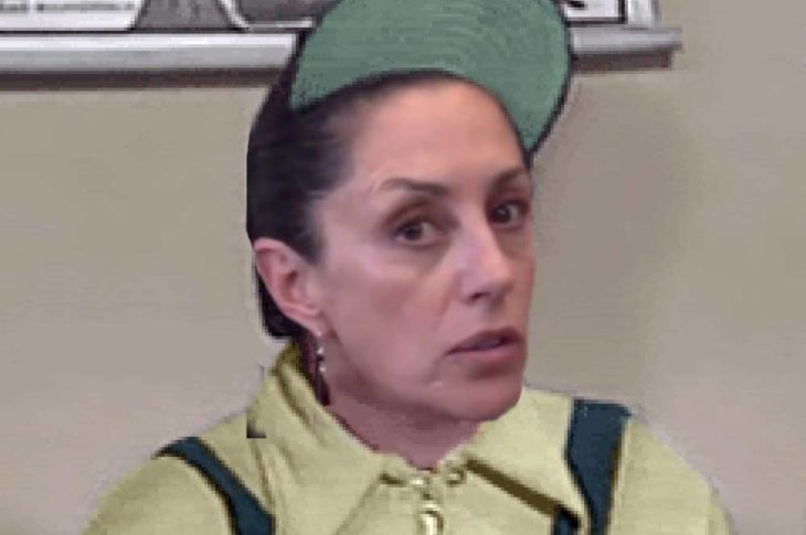 """Claudia Sheinbaum hizo un """"Godinez""""."""