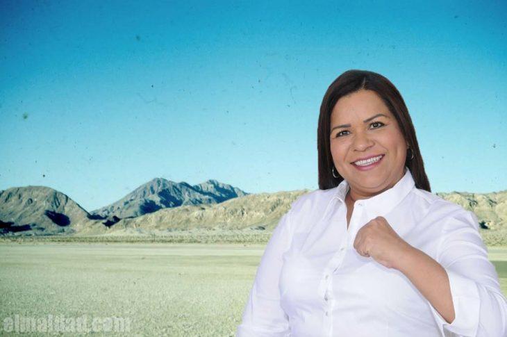 Eva Griselda Rodríguez, diputada de morena, propone rellenar la laguna Salada.