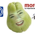 El rostro de Marla Sabrina.
