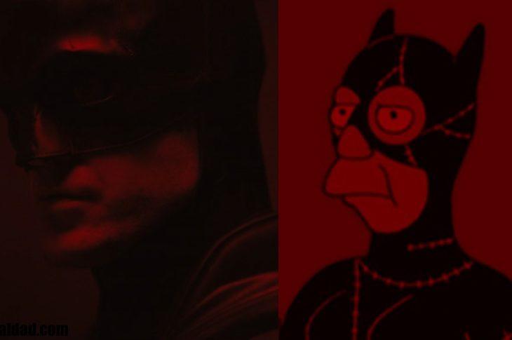 Robert Pattinson como Batman se parece a Skinner como el hombre gato.