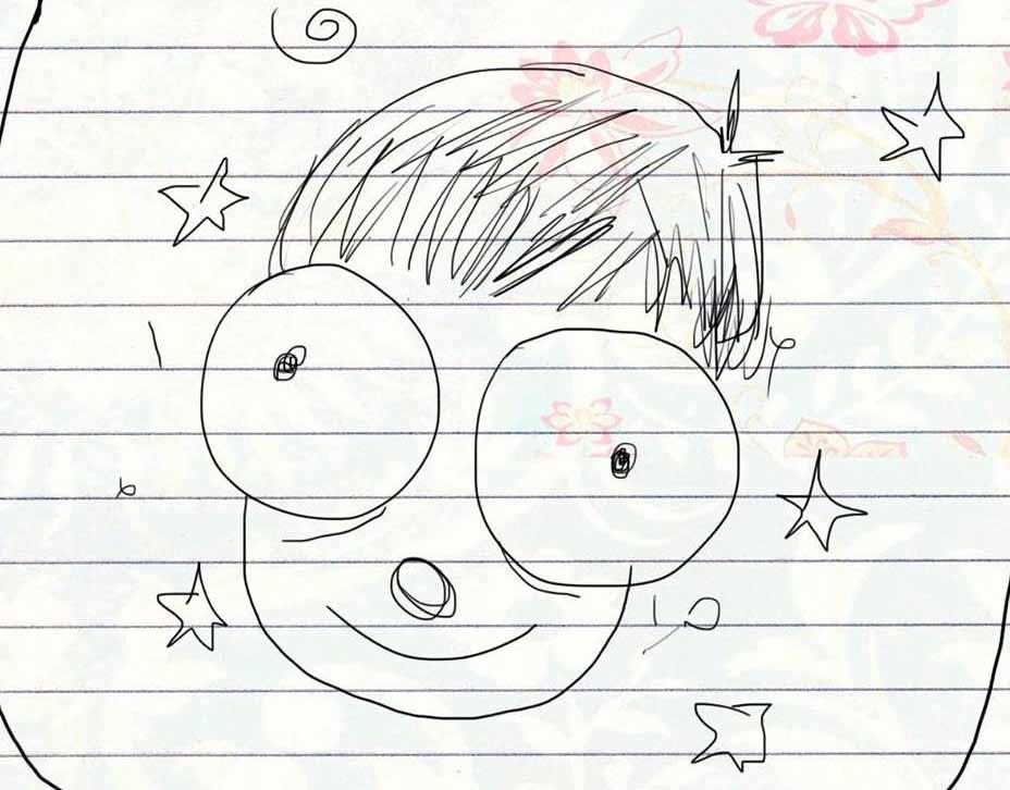 Auto retrato del creador de Tripo Dibujitos.
