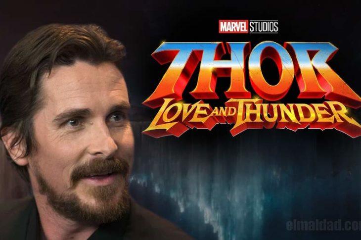 Bale será el villano en Thor: Love An Thunder.