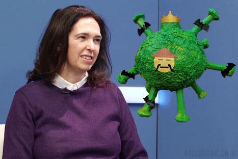 Carolina Mera habló sobre el coronavirus.