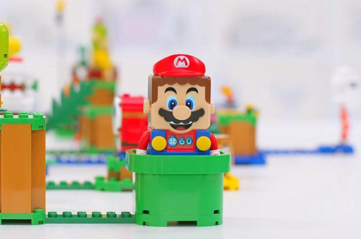 Primer vistazo a LEGO Super Mario.