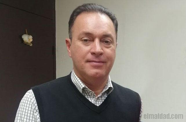 César Adolfo Godínez Villareal, ex-recaudador del ayuntamiento de Mexicali.