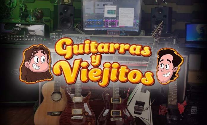 Logotipo de Guitarras Y Viejitos.