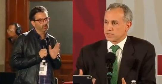 Alex Lelo vs López Gatell.