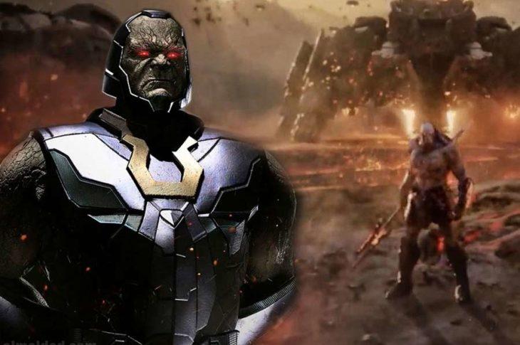 Darkseid aparece en Jusitce League de Snyder.