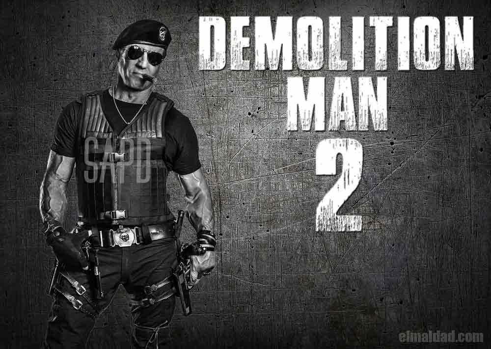 Confirman El Demoledor 2, imagen editada por la redacción de este sitio.
