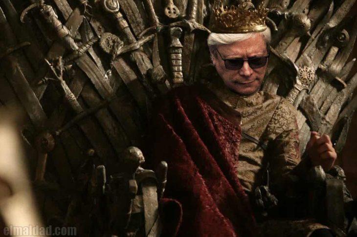 Jaime Lannister, digo, Jaime Bonilla.