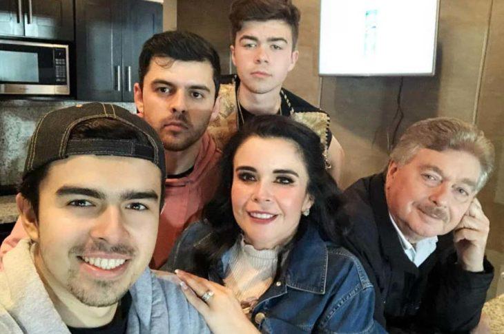 La familia Vega.