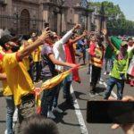 Afición de Monarcas sale a manifestarse en contra de que compren el equipo para llevárselo a Mazatlán.