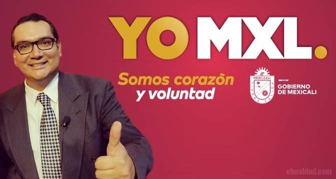 Hugo Ruvalcaba tiene contrato con el ayuntamiento de Mexicali.