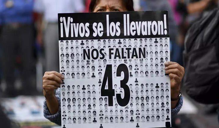Una de las tantas protestas referentes a los 43 de Ayotzinapa.
