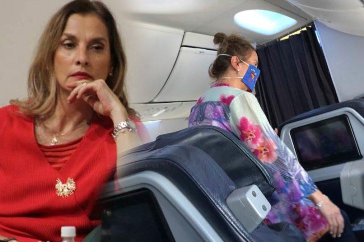 Beatriz Gutiérrez Müller fue captada viajando en primera clase y fue increpada.