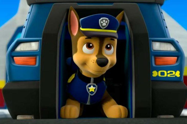 Chase, personaje policía de Paw Patroll.
