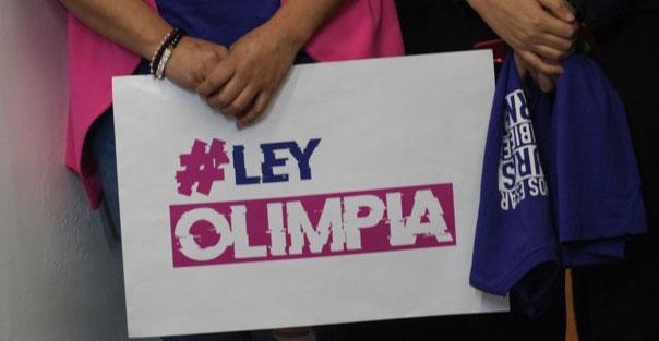 Ley Olimpia pasa en comisiones del congreso de Baja California.