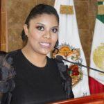 Monserrat Caballero, diputada de Morena quien presentó la iniciativa.
