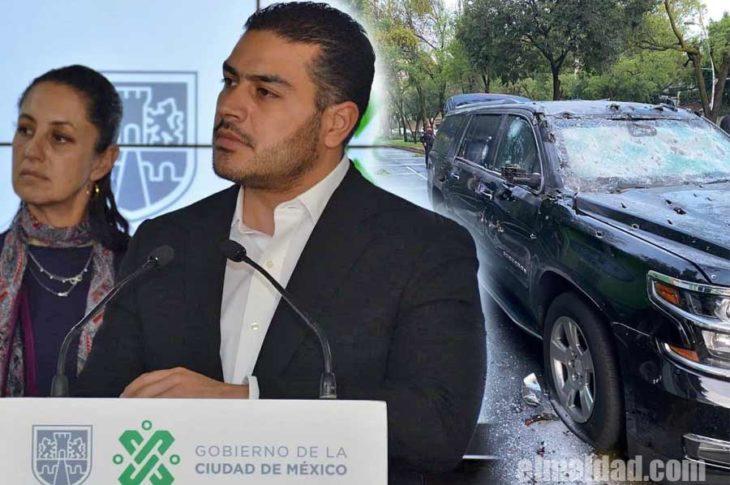 Omar García sufrió atentado presuntamente por el CJNG.