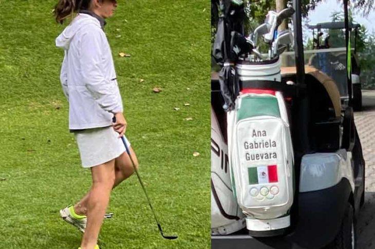 Ana Gabriela Guevara trabajando duro por un país mejor.