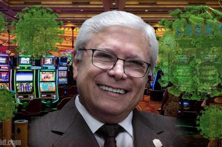 Jaime Bonilla estuvo en un casino en plena pandemia.
