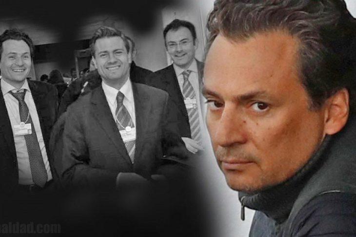 Lozoya, Peña Nieto y Videgaray, Lozoya bajo custodia de las autoridades.