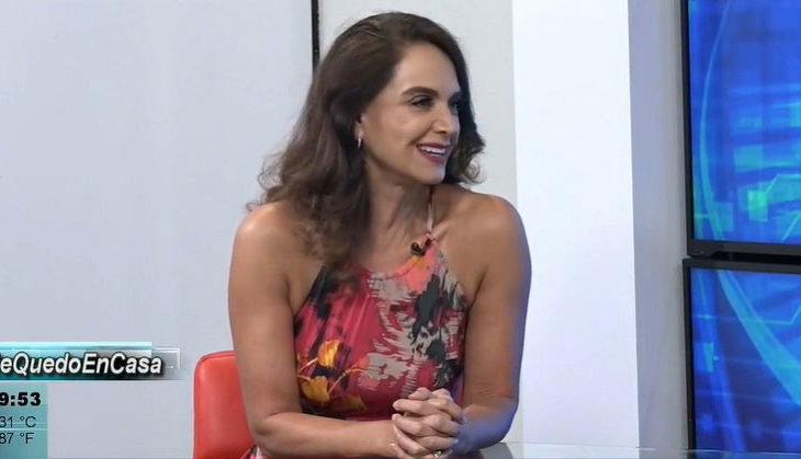 Lupita Jones en entrevista exclusiva en el Canal 66.