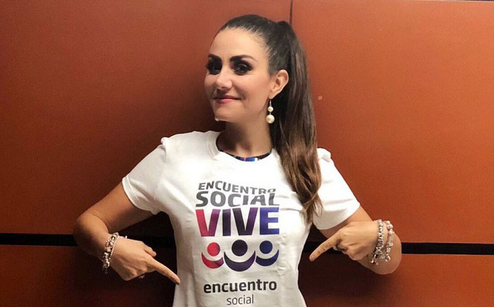 Nayeli Salvatori, diputada del PES.
