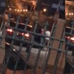 Un sujeto forcejea y agrede a una mujer, misma que se la llevó en su auto a la fuerza.