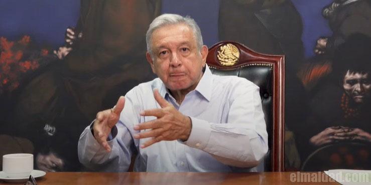 AMLO diciendo frases locas como Fox o Peña Nieto.