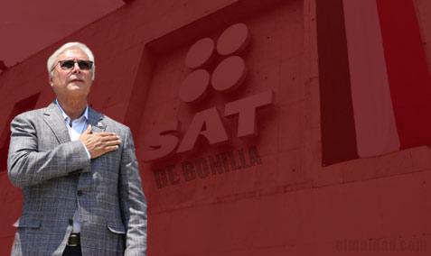 Jaime Bonilla quiere crear un SAT estatal.