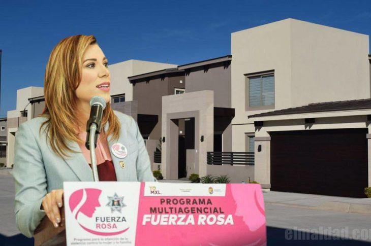 Marina del Pilar vive en calzada residencial, un fraccionamiento privado en Mexicali.