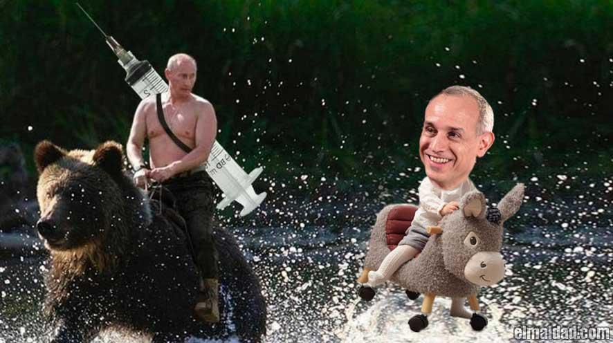Rusia saca vacuna contra el covid-19 y López-Gatell dice que no hay que usarla.