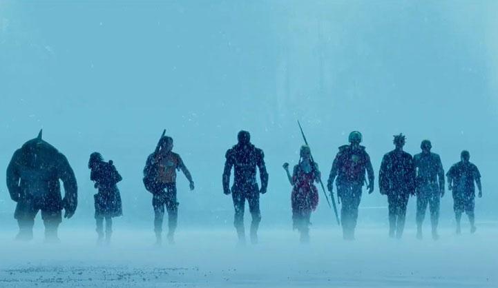 Escena de The Suicide Squad.