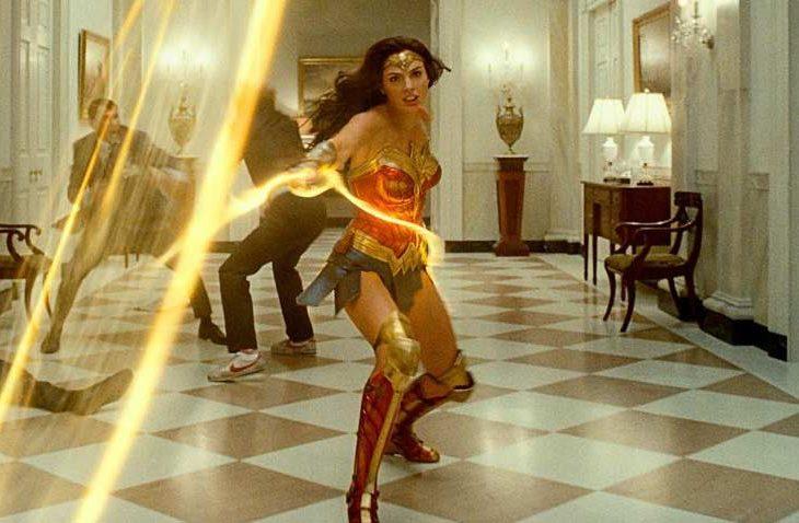 Escena de Wonder Woman 1984.