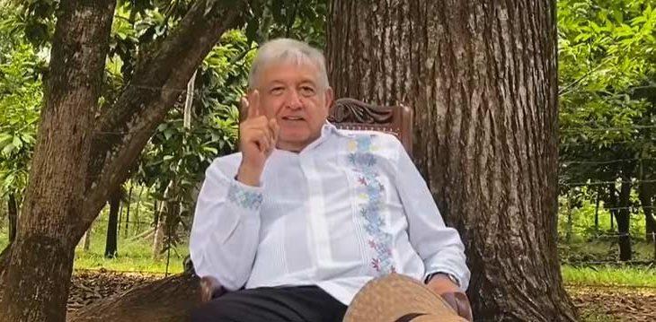 AMLO fomentando el separatismo entre mexicanos.