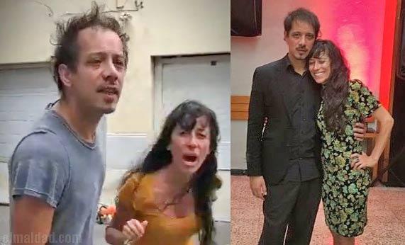 Pareja de argentinos se presentan bailando tango.